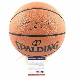 Giannis Antetokounmpo signed Basketball PSA/DNA Milwaukee Bucks autographed