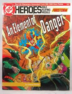 DC HEROES - AN ELEMENT OF DANGER - RPM
