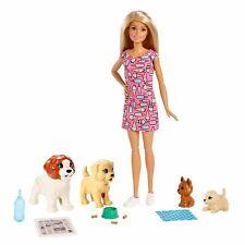 Muñeca Barbie Perrito guardería & Mascotas Playset