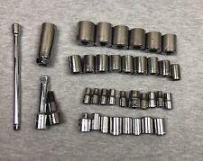 Mixed Lot of 35 + Craftman Socket Bits and Parts