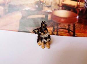 CHIHUAHUA  Dollhouse realistic OOAK miniature 1:12 handsculp.handmade