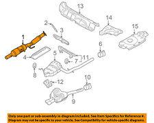 VW VOLKSWAGEN OEM 06-08 Rabbit 2.5L-L5 Exhaust System-Front Pipe 1K0254510TX