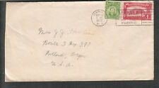Philippines 1932 cover Manila Trade Center Of The Pacific cancel to Portland OR