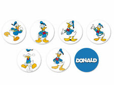 Lot Pack Magnet Aimant Ø38mm Donald Duck Disney Dessin Animé Cartoon Picsou