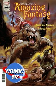 AMAZING FANTASY #1 (2021) 1ST PRINTING BAGGED & BOARDED MAIN COVER MARVEL COMICS
