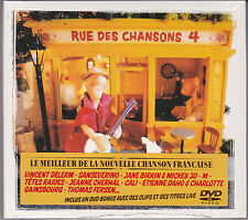 CD 21T + DVD BIRKIN/GAINSBOURG/DAHO/CALI/ARNO/-M-/OGRES DE BARBACK/TETES RAIDES