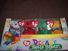 Nib decade Jingle beanie babies