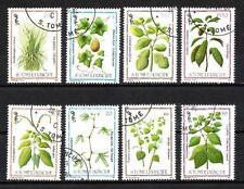 Flore - Plantes St Thomas et prince (116) série complète de 8 timbres oblitérés