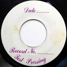 GHOST 45 1999 Hip Hop TEST PRESS Dancehall REGGAE c1634