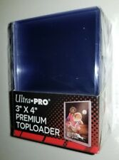 1 Pack of 25 Ultra Pro 3 x 4 Premium Sports Trading Gaming Cards Toploaders NEW
