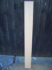 1 Buche-Kantholz, 80 x 80 x 800 mm  4-seitig gehobelt - Tischbein  fast astfrei