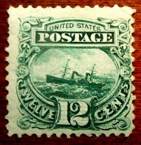 Buffalo Stamps:  Scott #117, 1869 Pictorial - Mint NG & F/VF, CV = $2,350 as OG