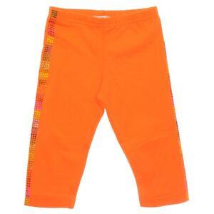 Orange Girls Leggings 18-24 Months Old 2-3 - 4 - 5 - 6 - 7 Years Old