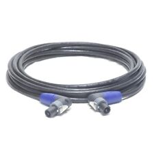 10 Gauge - 25FT - Double Right Angle LRX Neutrik NL2FX - Speakon Cable