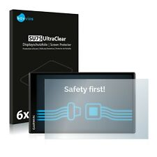 6x Displayschutzfolie Garmin DriveSmart 61 LMT-D Schutzfolie Folie Displayfolie