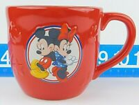 Hallmark Disney Mickey Minnie Mouse 3D Soup Coffee Mug Cup Red 14oz