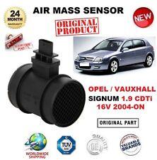 Para Opel Opel Signum 1.9 CDTI 16 V 2004-ON sensor de masa de aire 4 Pin Con Carcasa