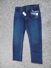 Banana Republic Slim Fit Men's Rapid Movement Jeans Dark Indigo 32 X 30