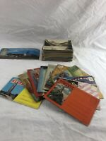 LOT OF 180+ VINTAGE POSTCARDS LINEN - FOLD OUTS - SOUVENIR VIEWS - 1930s-1960s