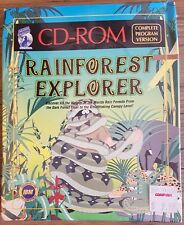 RAINFOREST EXPLORER PC GAME CD ROM TOP RARE IN LONG BOX SEALED !