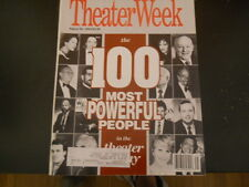 100 Most Powerful People in American Theater - Theater Week Magazine 1993