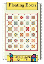 Quilt Pattern FLOATING BOXES Aunt Em's A JELLY ROLL FRIENDLY Moda MERRY GO ROUND