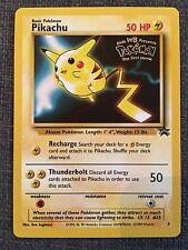 Pikachu Black Star WB Promo Pokemon Card Number 4 RARE