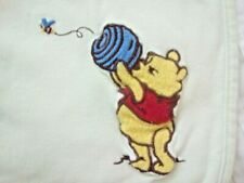 DISNEY Winnie the Pooh Baby Crib Blanket with Winnie The Pooh with Honey Pot