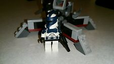 Lego Star Wars Clone Commander Wolffe Clone Wars  trooper with Cannon Set