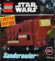 LEGO • STAR WARS Sandcrawler SW911725 Polybag LIMITED EDITION NIB NEW SEALED