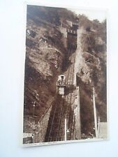 Vintage Postcard Lynmouth Cliff Railway 8213