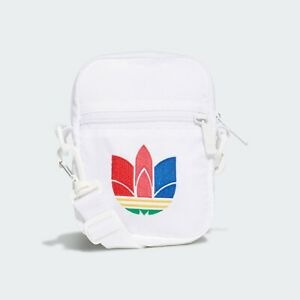 Adidas Festival Trefoil Bag GD4741 White Summer Travel Tiny Pouch Men Women