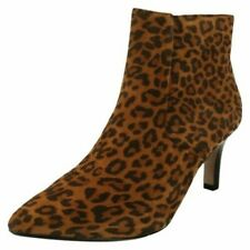 Ladies Clarks Illeana Petal Heeled Ankle Boots