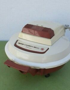 Vintage Hoover celebrity QS saucer style vacuum cleaner S3195 canister