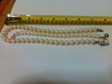 Ladies Estate Fresh Water Pearl necklace and Bracelet