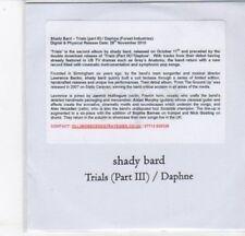 (DC703) Shady Bard, Trials (Part III) / Daphne - 2010 DJ CD