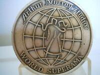 VINTAGE ARTHUR MURRAY STUDIOS WORLD SUPERAMA NEW ORLEANS DANCE AWARD MEDAL OLD