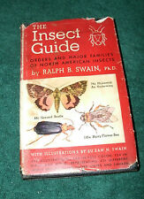 THE INSECT GUIDE by RALPH B. SWAIN, PHD 1948 HC/DJ