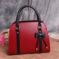 Fashion Women Faux Leather Shoulder Bag Handbag Totes Ladies Messenger Bag Hobo