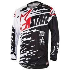 NEU Alpinestars Racer Braap Cross Shirt schwarz weiss rot Gr. S = 48 statt 39,95