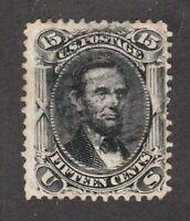 United States Stamp #77 used, 15c  black, SCV $175.00