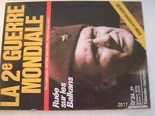 **a La 2e Guerre Mondiale n°24 écrasement de la Yougoslavie