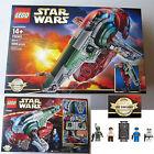 New LEGO Disney Star Wars Slave I 1996 Pcs Set 75060 Han Solo Boba Fett Bespin