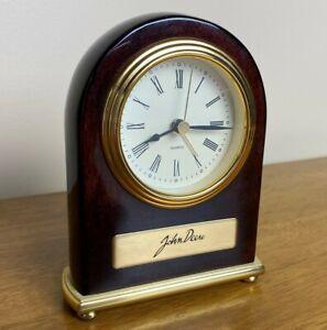 JOHN DEERE Signature Desk Shelf Table Quartz Analog Alarm Clock