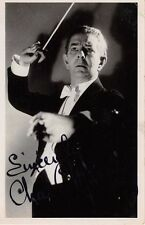 Charles Manning -  Musician, Orchestra Leader  -  Real Photo signed