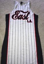 Forever 21 East LA Basketball Jersey Dress Size S Stretch Sport Dress