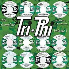 CD Complete Tri-phi Records Singles Volume 1 Spinners Johnny & Jackey Shorty Lon