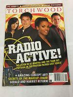 TORCHWOOD MAGAZINE DOCTOR WHO RADIO ACTIVE OCT 2008 #9 DR. WHO