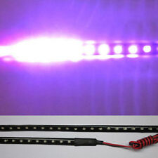 Purple 30cm 22leds 3528 Car Scanner Meteor Flash Led Knight Rider Strip Light P2