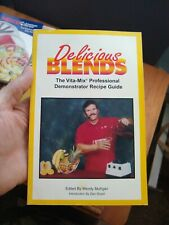 Delicious Blends Vita-Mix Professional Recipe Guide Book Booklet User Blender